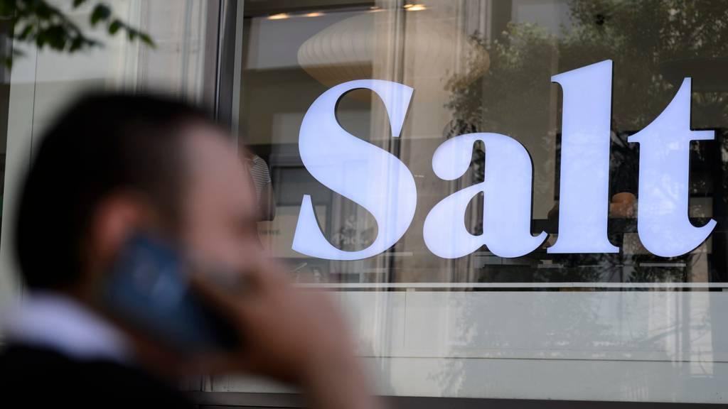 Salt machte weniger Umsatz und Betriebsgewinn