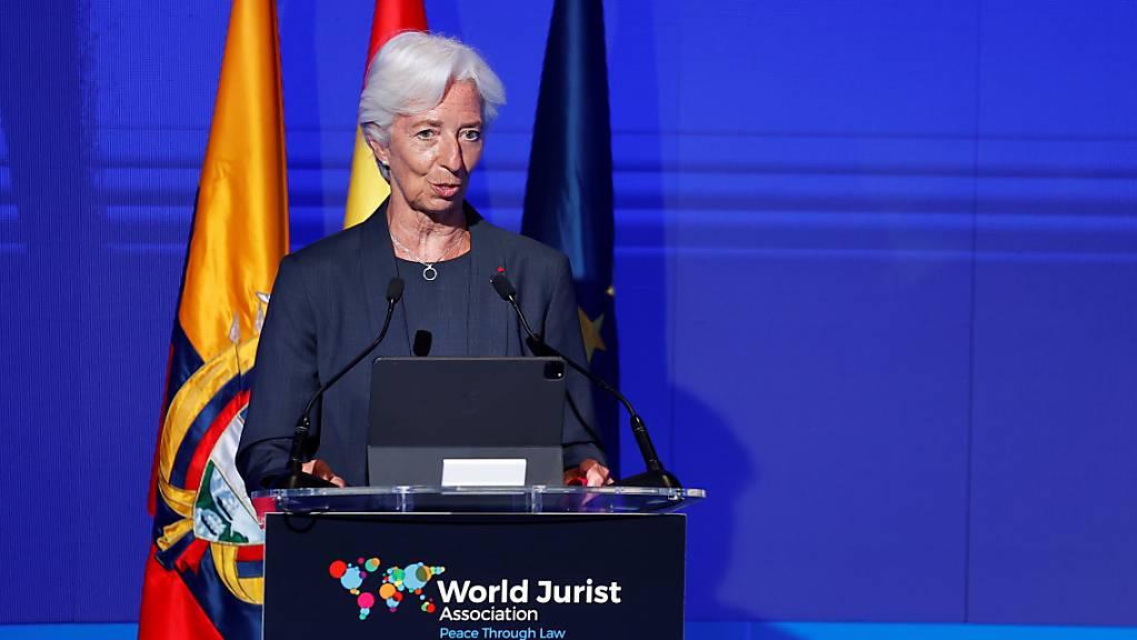 Christine Lagarde ist die Chefin der Europäischen Zentralbank: Bild vom 5. Juli 2021.