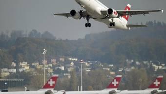 Deutschland und die Schweiz führen weiter Gespräche im Fluglärmstreit (Archiv)