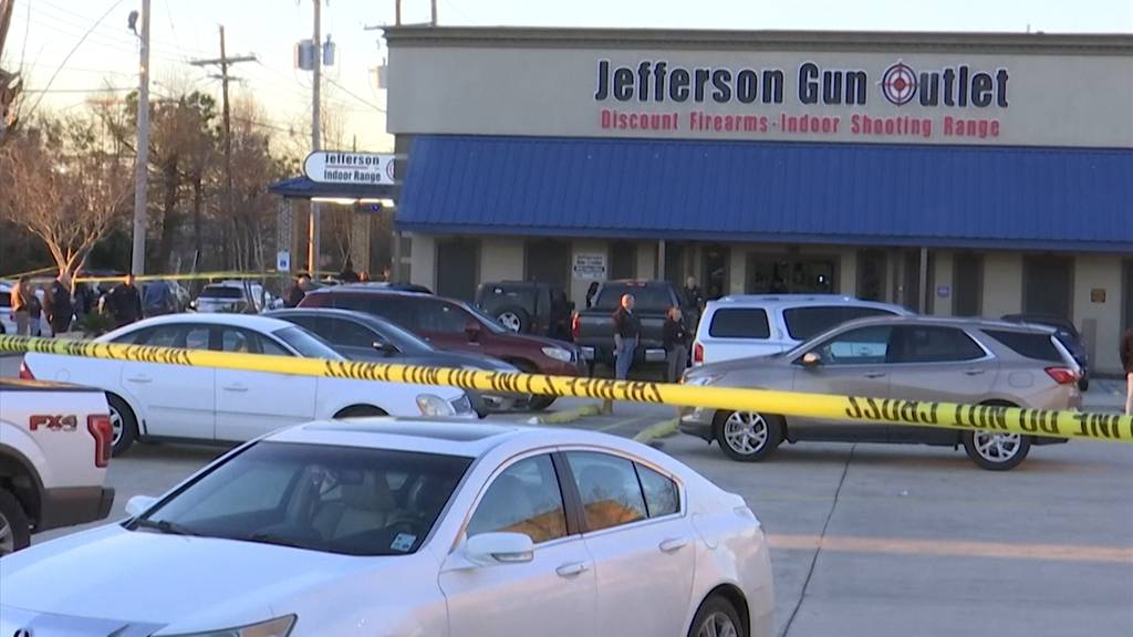Louisiana (USA): Drei Tote nach Schüssen in Waffen-Outlet