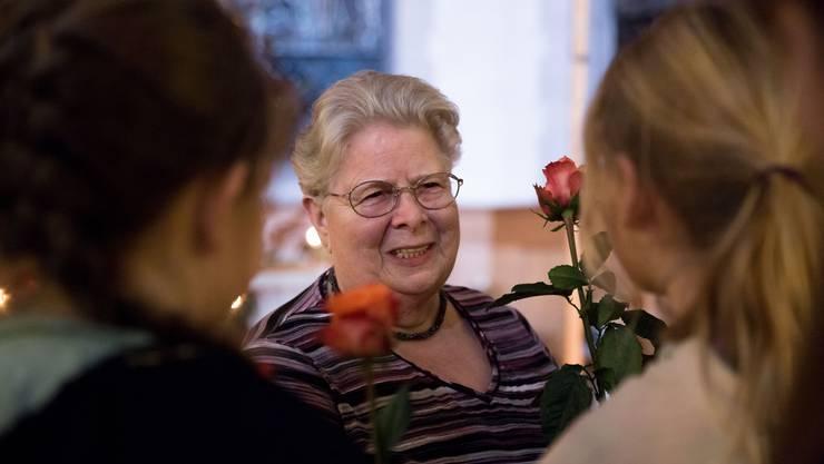 Marlis Ramensperger wird nach 55 Jahren als Sonntagsschullehrerin verabschiedet