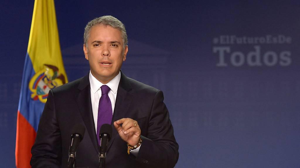 Kolumbien: Präsident rät wegen Protesten zu Anti-Vandalismus-Gesetz