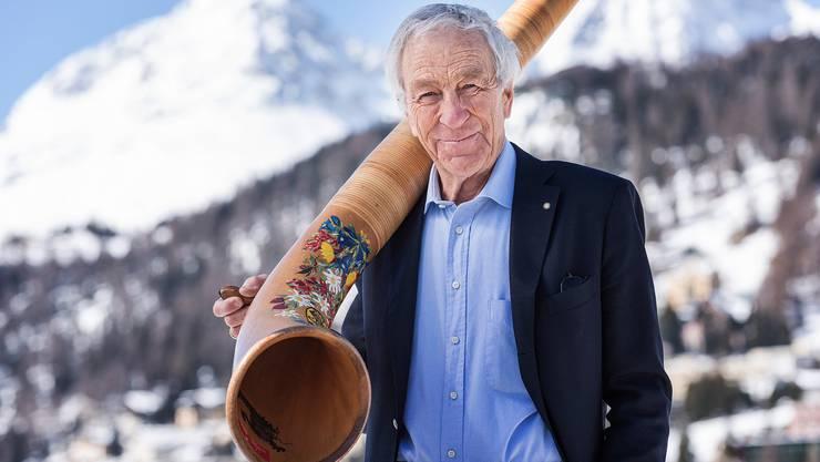Der ehemalige Kurdirektor von St. Moritz, Hans Peter Danuser, rät schweren Herzens von Reisen nach Graubünden oder ins Tessin ab.