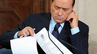 Berlusconi schnürt Sparpaket zur Eindämmung der riesigen Staatsschuld