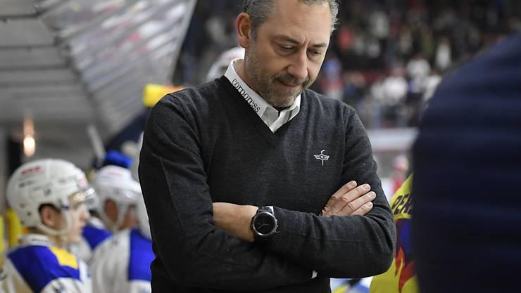Klotens Cheftrainer Andre Rötheli ist nach den sieben Meisterschafts-Niederlagen in Folge der Zürcher Unterländer gefordert