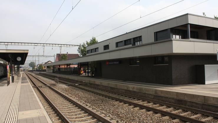 Der neu sanierte Bahnhof Frenkendorf-Füllinsdorf wird morgen offiziell seinen Betrieb aufnehmen.