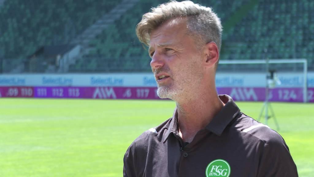 FCSG Saisonstart: Sportchef Alain Sutter im Interview