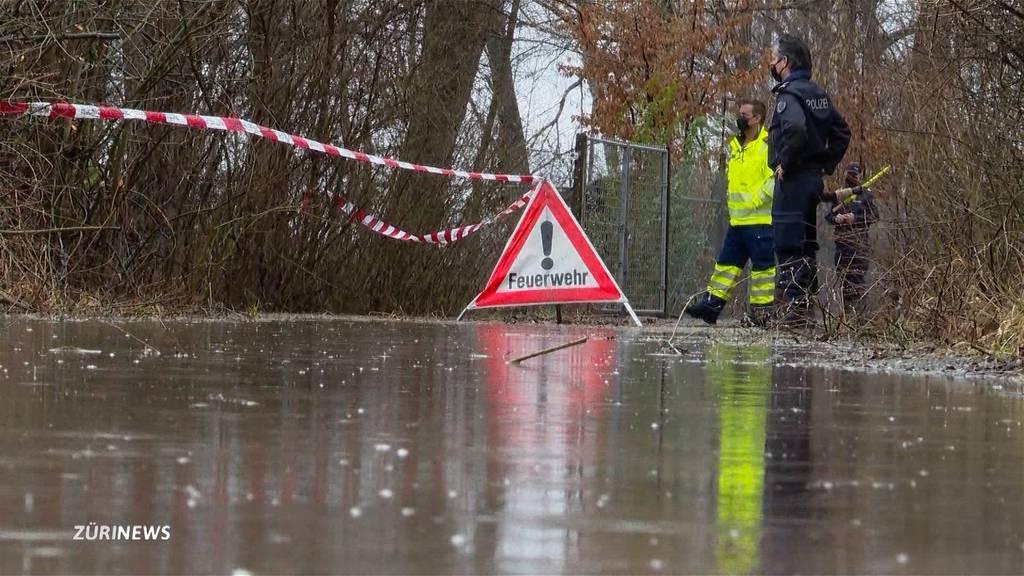 Hochwasser am Greifensee: Schifffahrt eingestellt, weitere Wege gesperrt