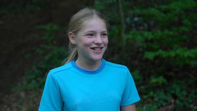 «In der Natur ist es spannend»: Jasmin (11) aus Merenschwand.