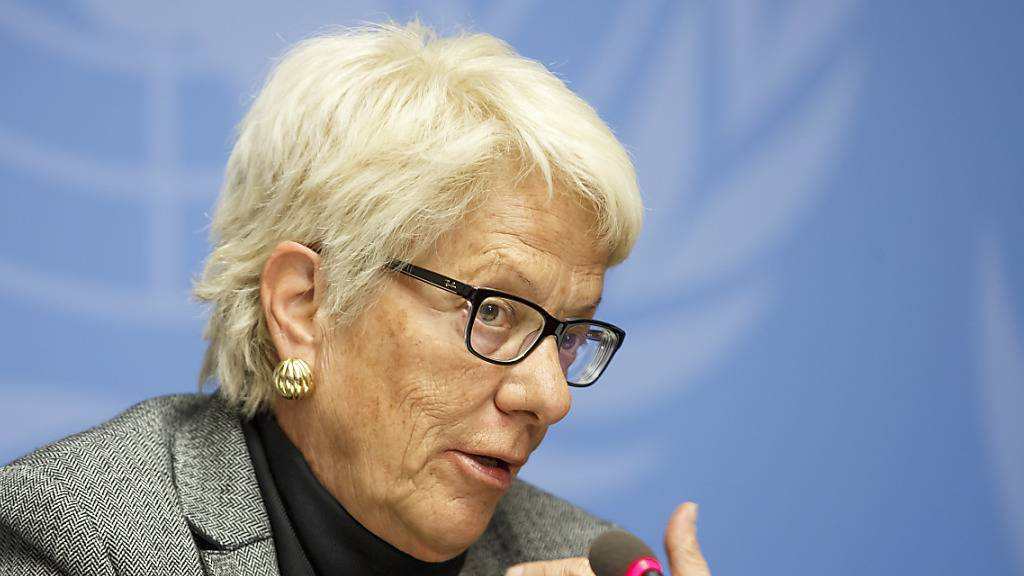 «Prix Courage Lifetime Award» für Carla Del Ponte