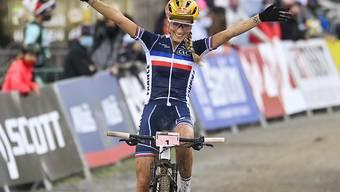 Pauline Ferrand-Prévot verteidigt ihren WM-Titel erfolgreich