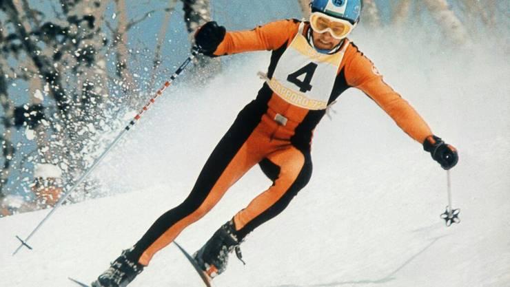 """Bernhard Russi ist der wohl populärste Schweizer Skirennfahrer der Geschichte. Der """"Sunnyboy der Nation"""" kürte sich 1972 in Sapporo zum Abfahrts-Olympiasieger"""