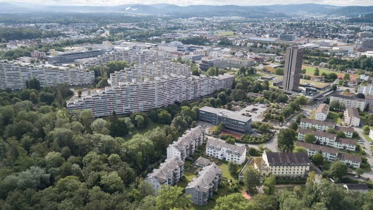 Die «Staumauern» im Telli-Quartier in Aarau.