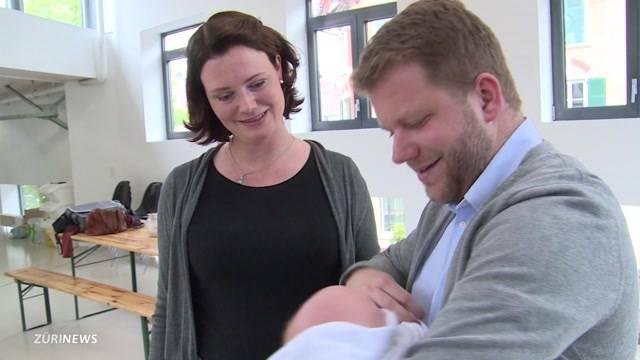 Für vier Wochen Vaterschaftsurlaub