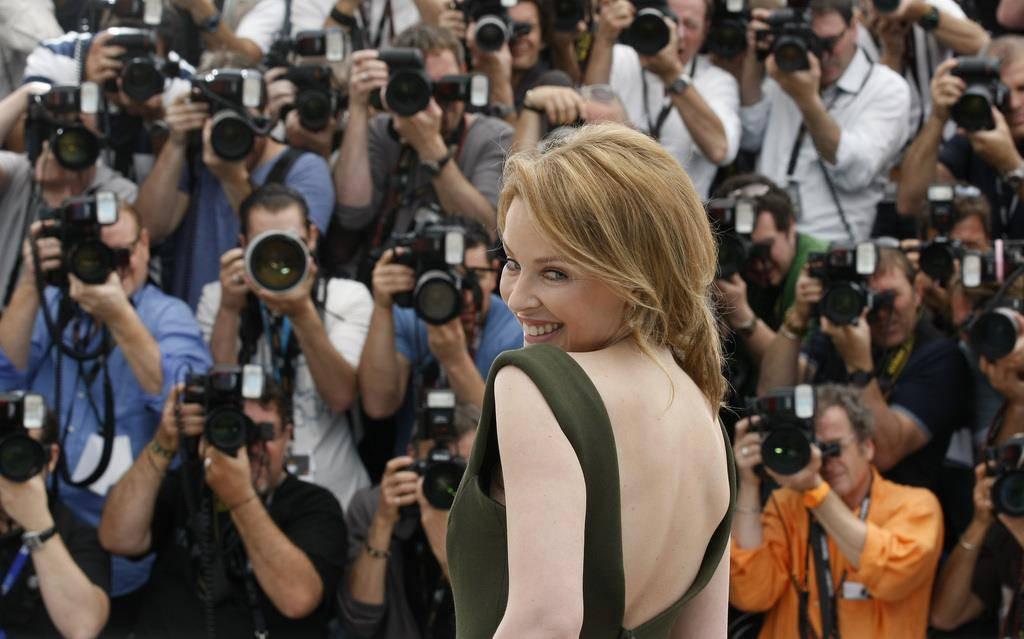 Superstar Kylie Minogue (© Keystone)
