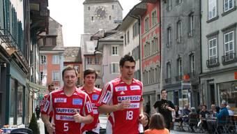 Am 25. April wird die Aarauer Altstadt zum Leichtathletikstadion. (Archiv)