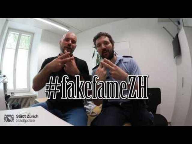 #fakefameZH: So warnt die Stadtpolizei vor mutmasslichen Betrügern