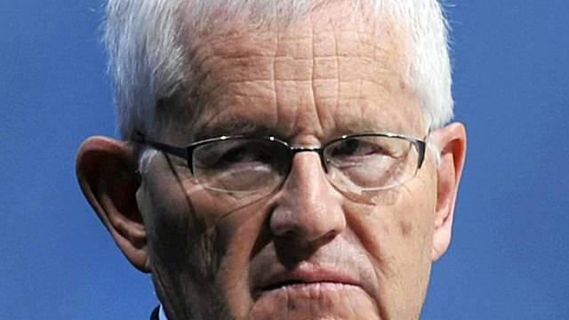 UBS-Verwaltungsratspräsident Kaspar Villiger an der GV