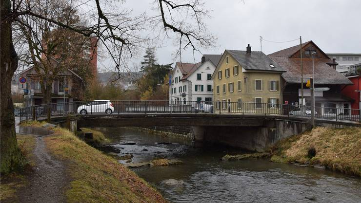 Mit dem Abbruch der Brücke im Mai wird das Verkehrsregime umgestellt.