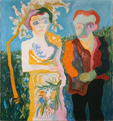 Wenig Wonne im Wonnemonat Mai. «Das Brautpaar (Oblomow und Oljga)» von Paul Camenisch, gemalt 1928.