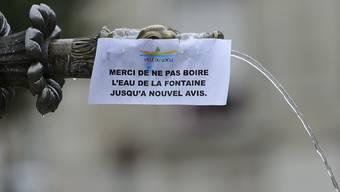 Endlich können die Behörden von Le Locle diese Hinweise wieder entfernen. (Archivbild)