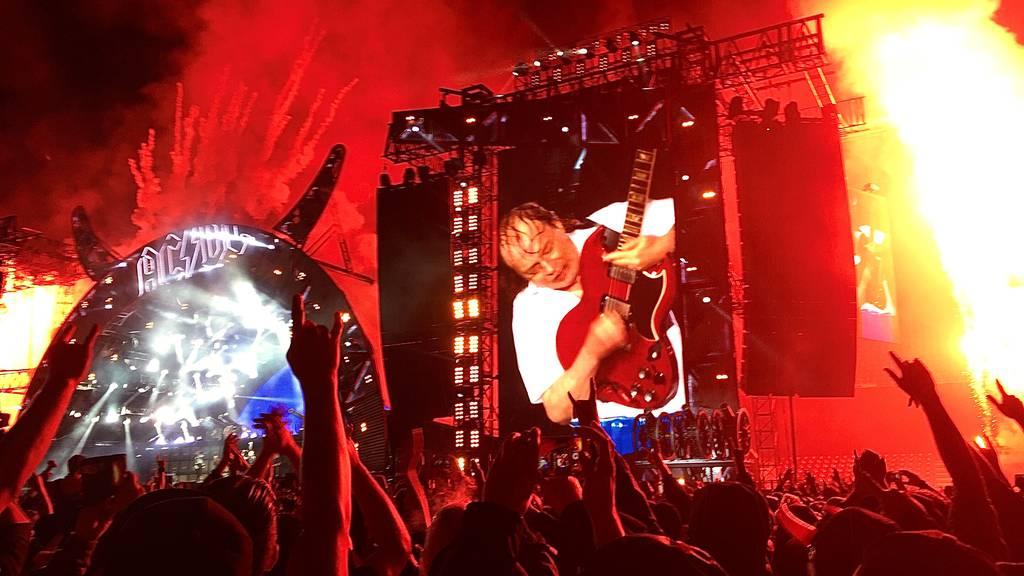 Exklusiv: 2 Stunden «AC/DC live» auf Argovia Classic Rock!