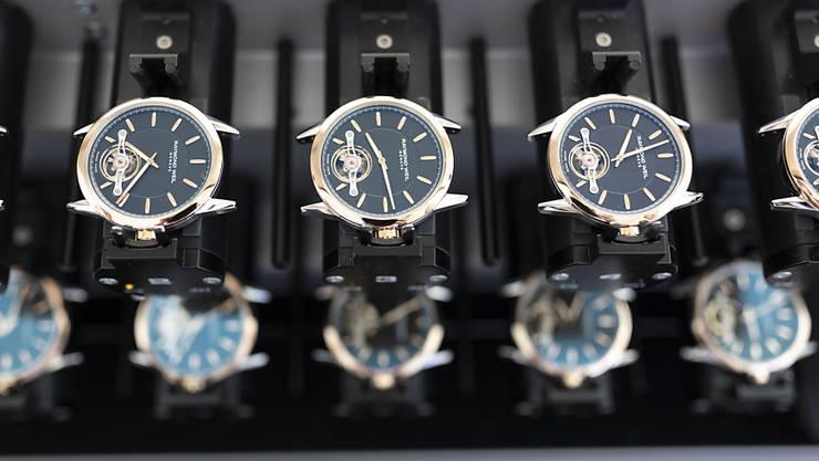 Die Coronakrise hat im Februar zum Einbruch der Uhrenexporte nach China geführt. (Archivbild)