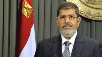 Der ägyptische Präsident Mohammed Mursi will die Regierung umbilden (Archiv)