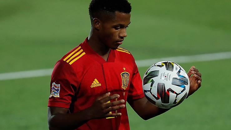 Der 17-jährige Ansu Fati gilt als eines der grössten Talente im Weltfussball