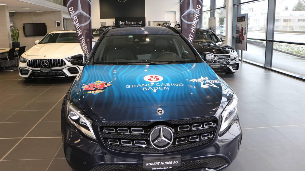 Als erstes Auto ein Mercedes-Benz GLA