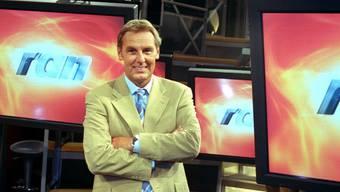 """Jörg Wontorra moderierte unter anderem die Fernseh-Show """"Ran"""" (Archiv)"""
