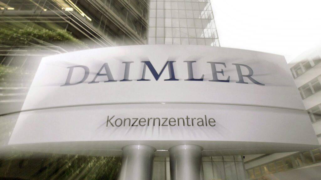 Daimler steigert Gewinn 2020 deutlich (Archivbild)