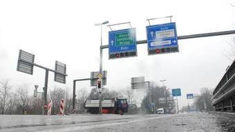 Kapazitätsgrenze erreicht: Ein Ausbau des Knotens Suhrebrücke in Aarau wird vom Regierungsrat als dringlich erachtet. (to)