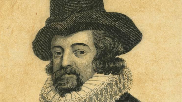 Auch Kandidat: Francis Bacon, später Baron Verulam (1561–1626). Sein Problem: Hatte neben seinen vielen Ämtern kaum Zeit, all die Stücke zu schreiben.