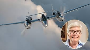 Wendy Heggendorns Vater flog eine solche P-38 im Zweiten Weltkrieg.