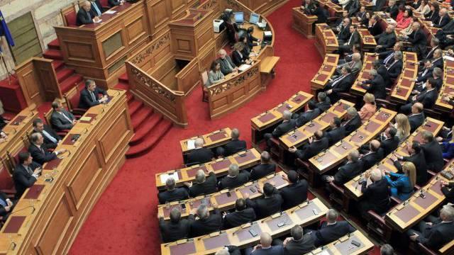 Das griechische Parlament in Athen (Archiv)