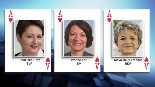 Nebst Yvonne Feri und Franziska Roth tritt nun auch Maya Bally für den 2. Regierungsrats-Wahlgang an. Der SVP passt dies ganz und gar nicht – das sagt Präsident Thomas Burgherr.