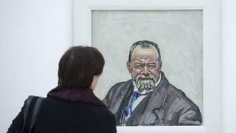 Eines seiner Gemälde brachte in Zürich acht Millionen ein: Hodler