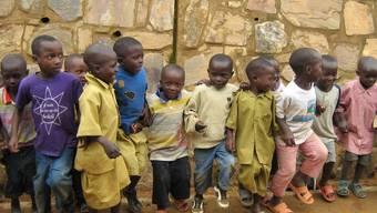 Spendenaktion für Ruanda