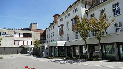 Das Medizinische Zentrum in Brugg: Das KSB ist hier mit verschiedenen Disziplinen vertreten. Neu auch im Bereich Rheumatologie.