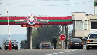 Checkpoint zwischen Moldawien und dem abtrünnigen Transnistrien