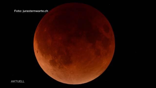 Diese Mondfinsternis ist ein Jahrhundertereignis