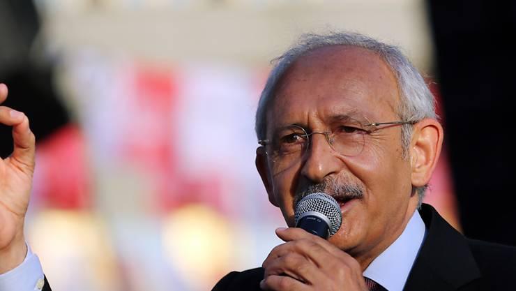 Kemal Kilicdaroglu soll Erdogan beleidigt haben - deswegen wird gegen ihn nun ermittelt. (Archiv)