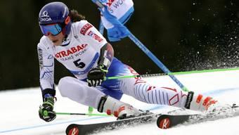 Petra Vlhova überzeugt auch in ihrem Heimrennen