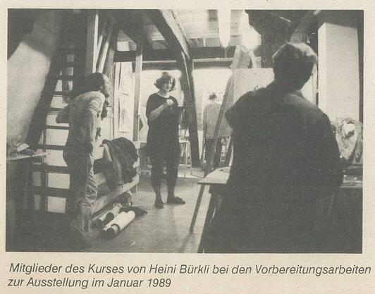 Die Kunstschule Dachboden (1989).