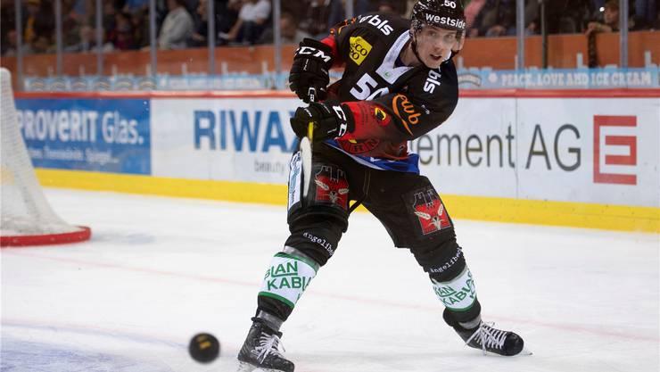 Der finnische SCB-Verteidiger Miika Koivisto ist eine «Nullnummer» in Europas bester Liga. Bild: freshfocus