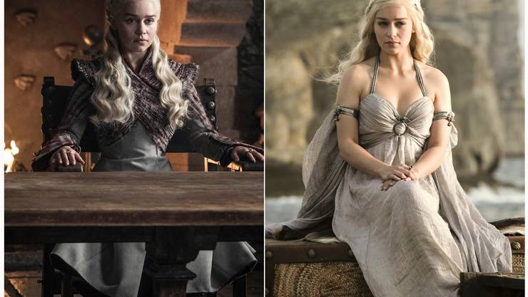 Emilia Clarke spielte Daenerys Targaryen. (HBO via AP)