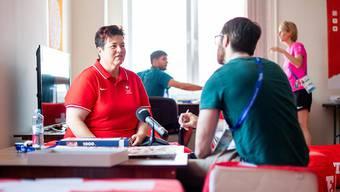 Schützin Heidi Diethelm Gerber äussert sich in Minsk zu ihren Aussichten an den European Games