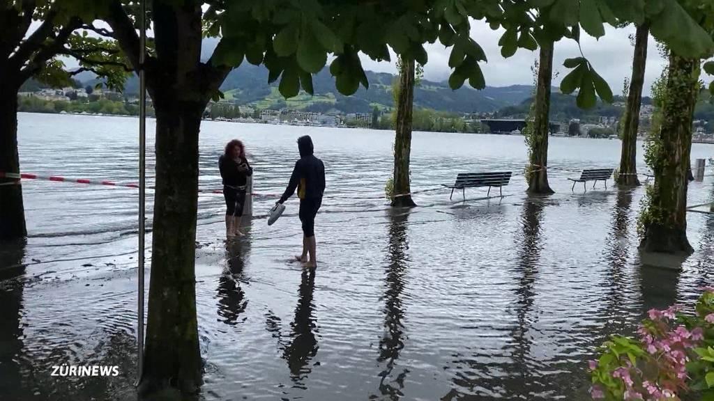 Noch immer keine Entwarnung: Das ist die aktuelle Hochwasserlage in Zürich