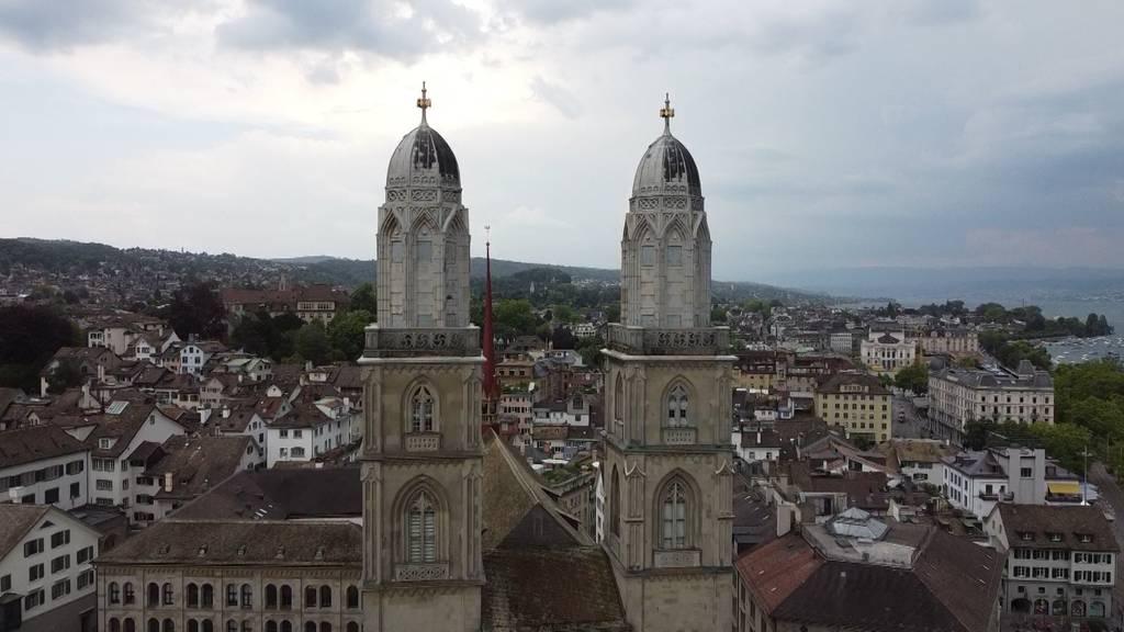 Stadt Zürich sperrt Aussichtsplattform auf Grossmünster